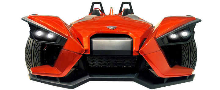 Renting a Polaris Slingshot in NJ